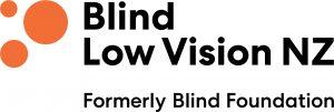Blind Low Vision NZ logo
